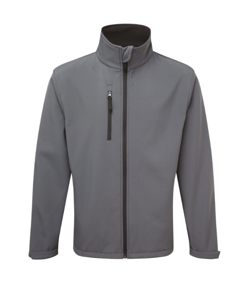 Fortress Selkirk Softshell Jacket Grey