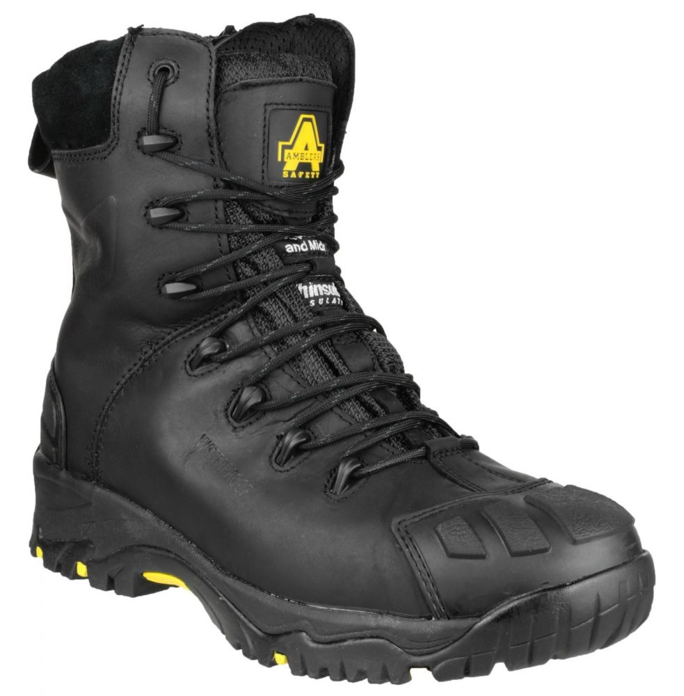 Amblers FS999 S3 Metal Zip Safety Boots