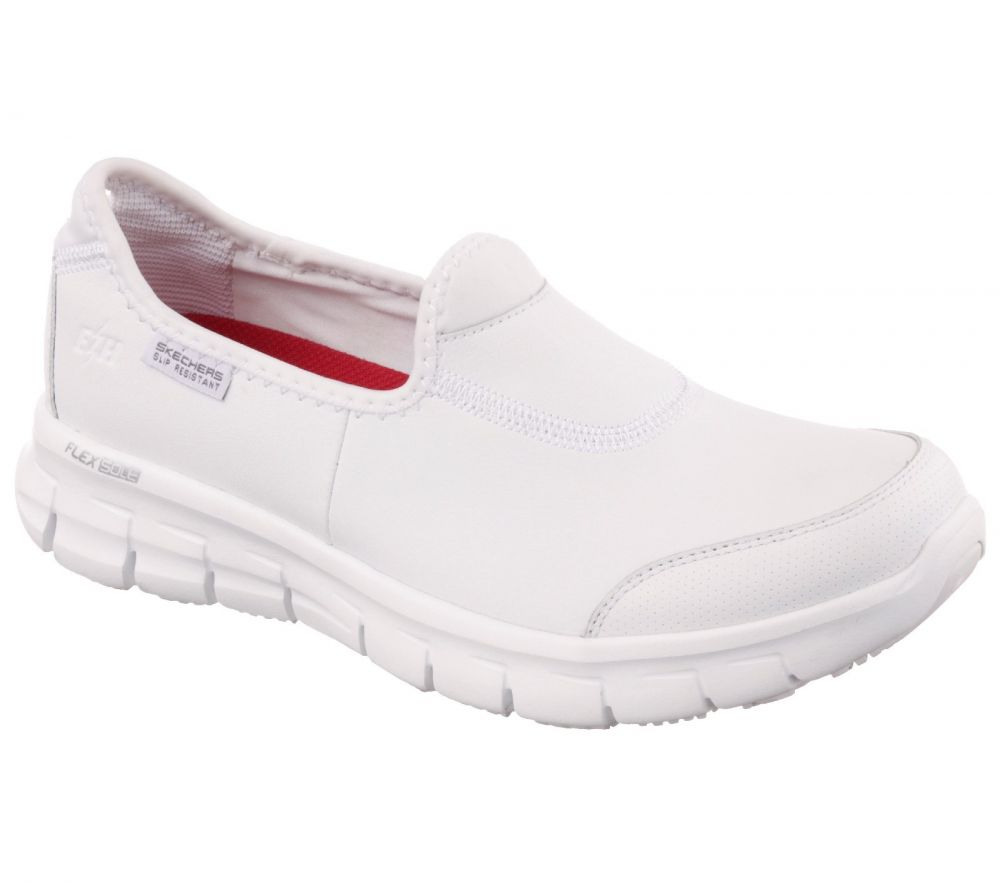 Skechers SK76536EC Sure Track Occupational Shoes White
