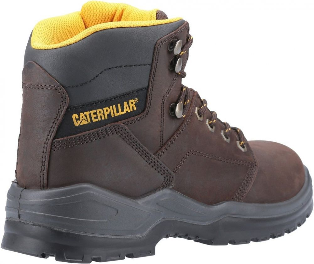 CAT Striver S3 Safety Boots Brown