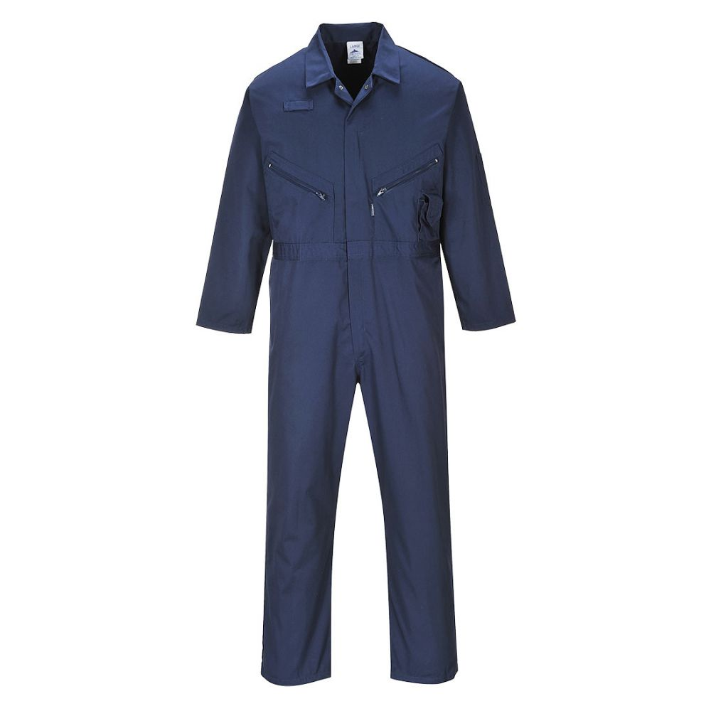 Portwest C813 - Liverpool Zip Coverall Navy