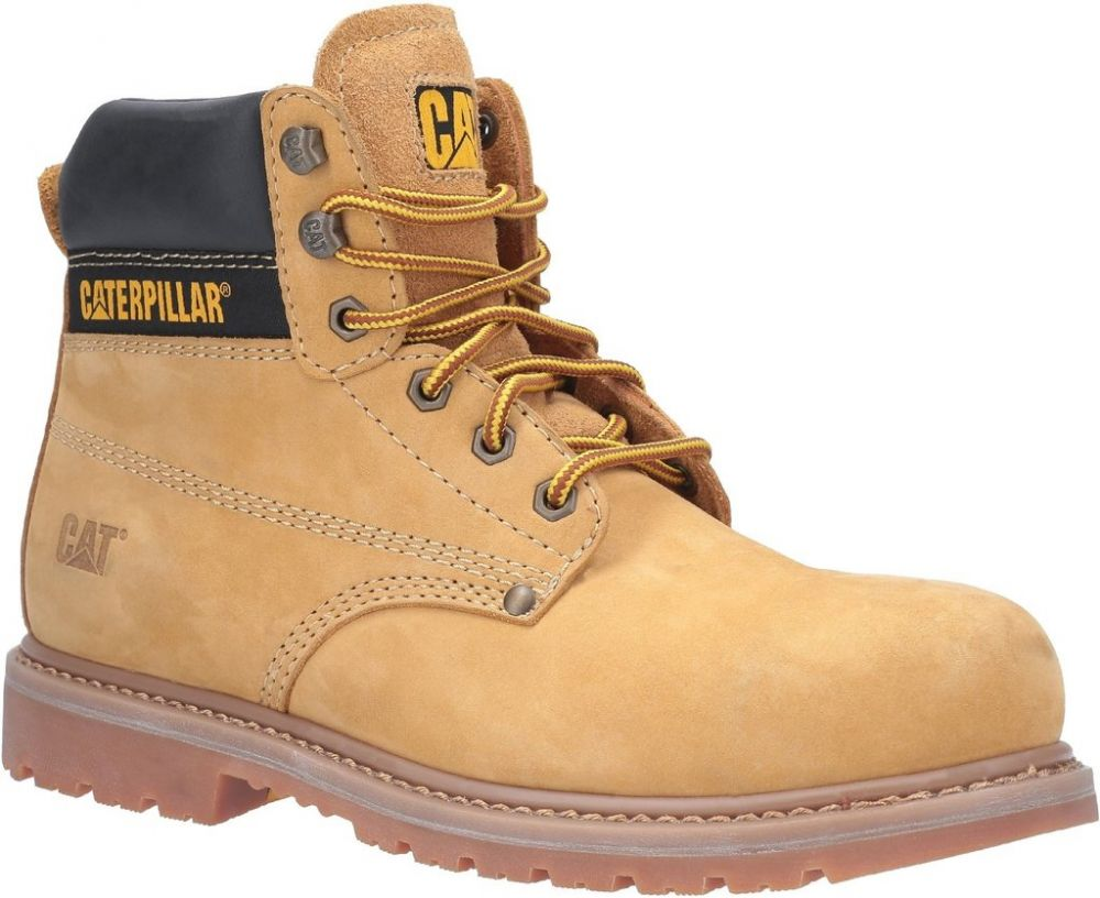 CAT Powerplant GYW Safety Boot SB Honey