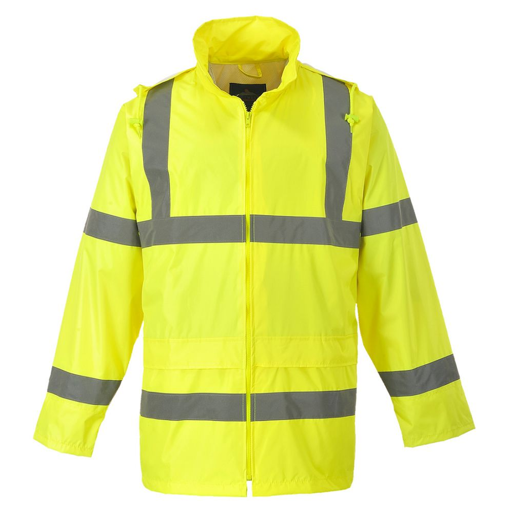 Portwest H440 - Hi-Vis Rain Jacket Yellow