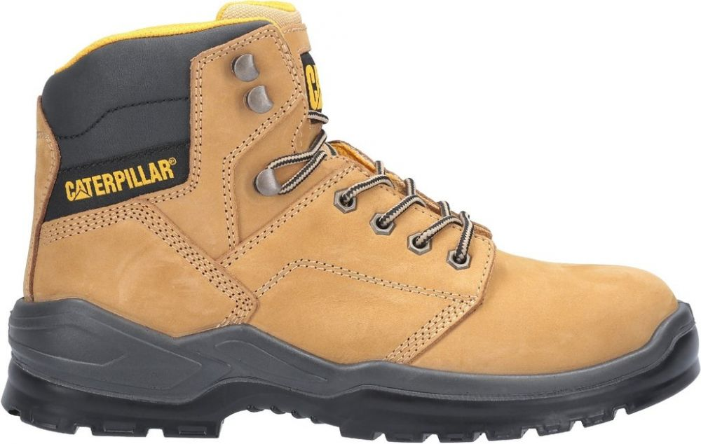 CAT Striver S3 Safety Boots Honey