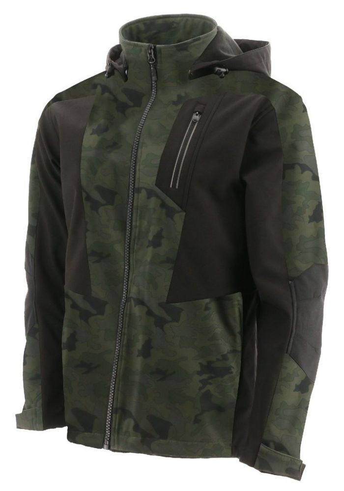 CAT Mercury Softshell Green (Night Camo)