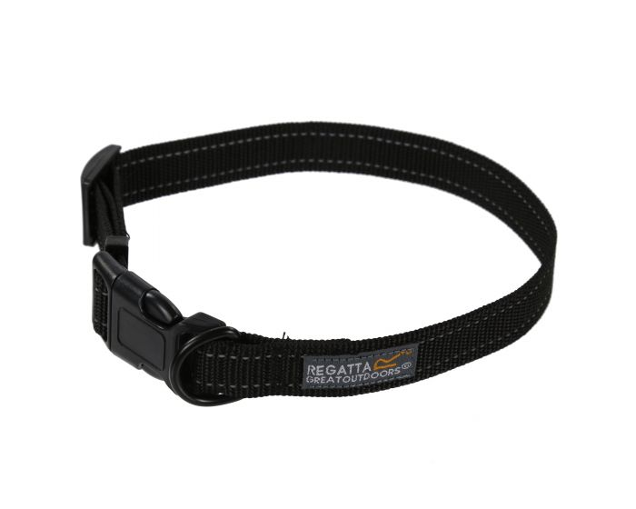 Regatta Comfort Hardwearing Dog Collar Black