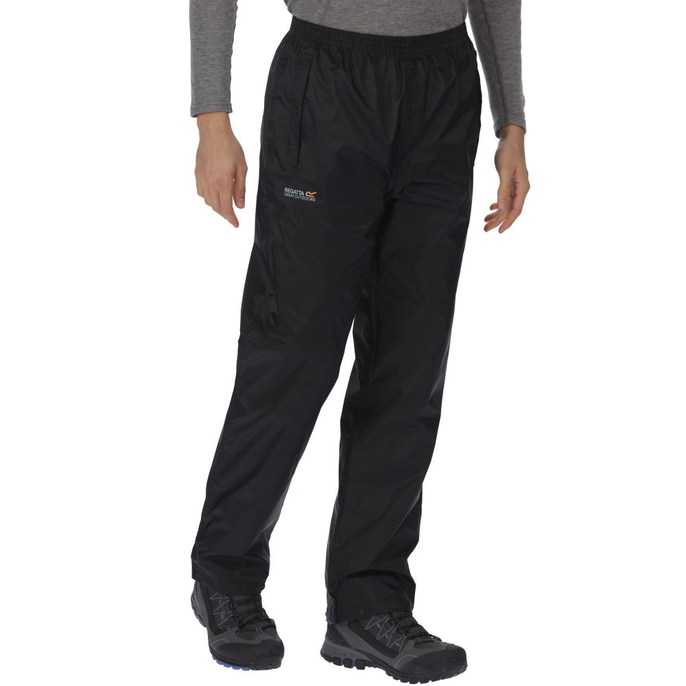 Regatta Pack It Waterproof Overtrousers Black