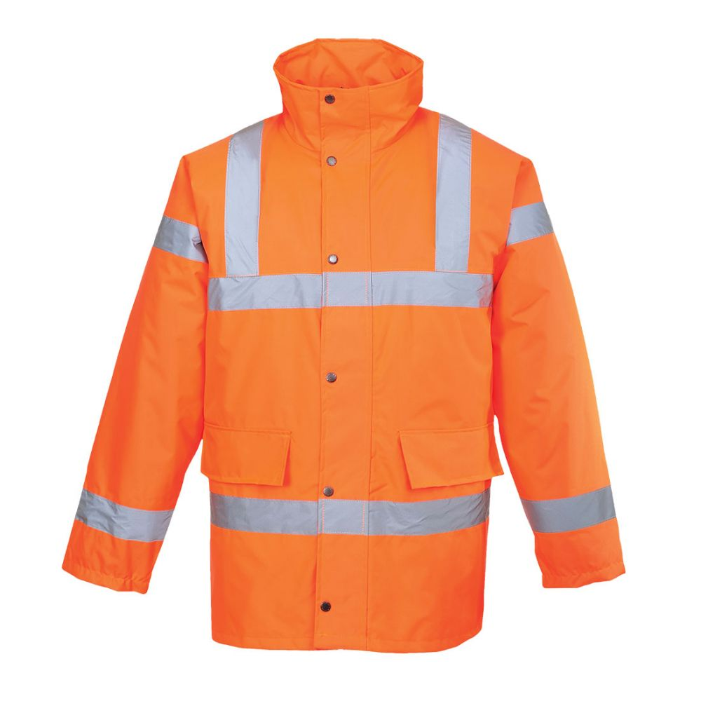 Portwest S460 - Hi-Vis Traffic Jacket Orange