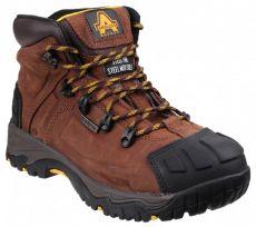 Amblers FS32 Waterproof Safety Mens Black Steel Toe Cap Boots Shoes UK3-15