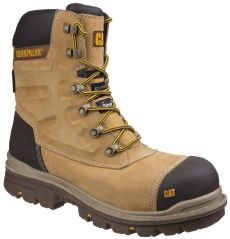 CAT Premier Safety Boots Honey