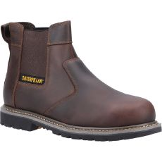 CAT Powerplant Dealer Safety Boot SB Brown