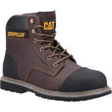 CAT Powerplant S3 Safety Boot S3 Brown