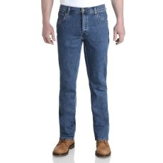 Wrangler Durable Stretch Denim Jeans Stonewash Blue