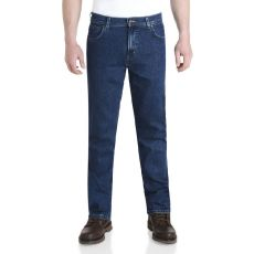 Wrangler Durable Stretch Denim Jeans Darkstone Blue