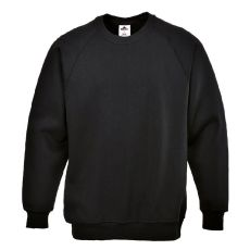 Portwest B300 - Roma Sweatshirt Black