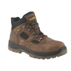 Dewalt Challenger III S3 Safety Boots Brown