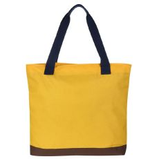 Regatta Stamford Beach Bag Golden Spice Navy