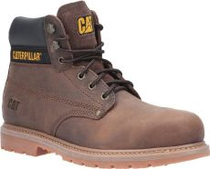 CAT Powerplant GYW Safety Boot SB Brown