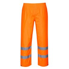 Portwest H441 - Hi-Vis Rain Trousers Orange