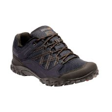 Regatta Men's Edgepoint III Walking Shoes Navy Burnt Umber