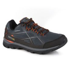 Regatta Men's Kota II Waterproof Walking Shoes Briar Grey Burnt Salmon
