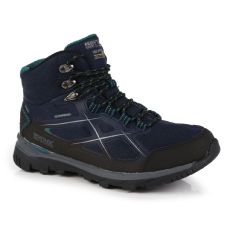Regatta Women's Kota II Waterproof Mid Walking Boots Navy Shoreline Blue