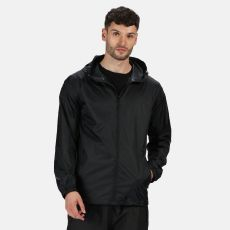 Regatta Men's Pro Packaway Breathable Waterproof Jacket Black